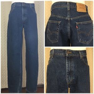 Levi's 560 Loose Fit Tapered Jeans Leg Sz 34